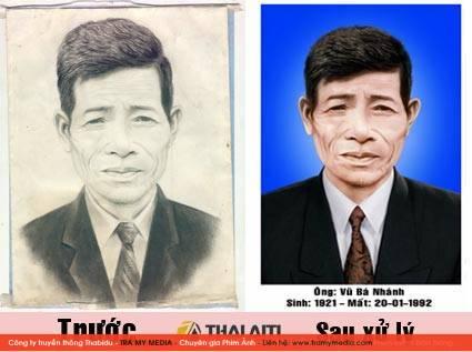 Phục chế ảnh cũ Long Biên