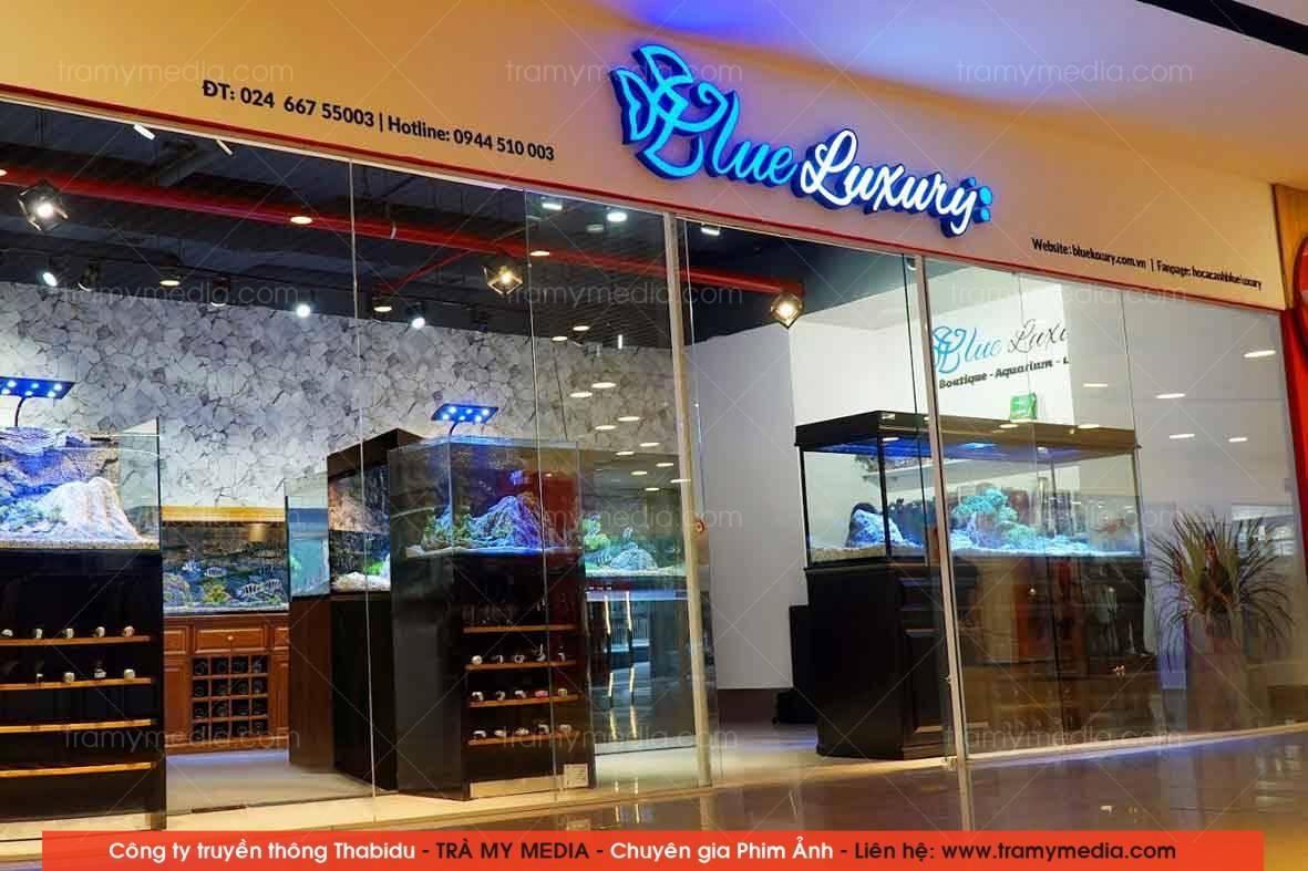 Chụp ảnh sản phẩm Bể Cá Blue Luxury 1